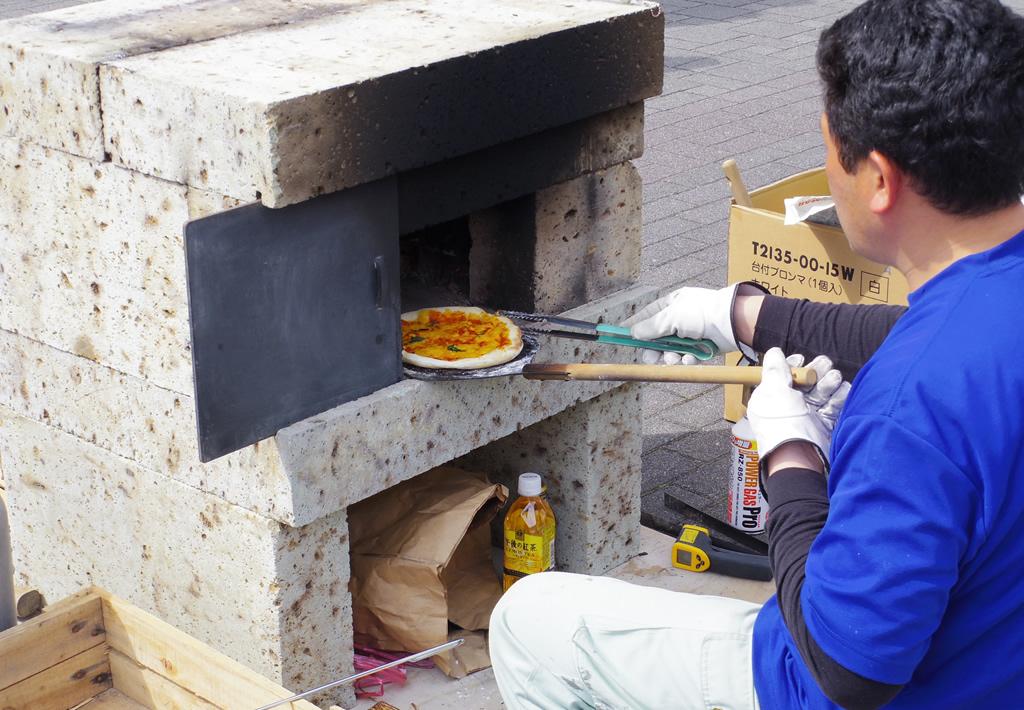 藤枝おんぱく 窯焼きピッツァ