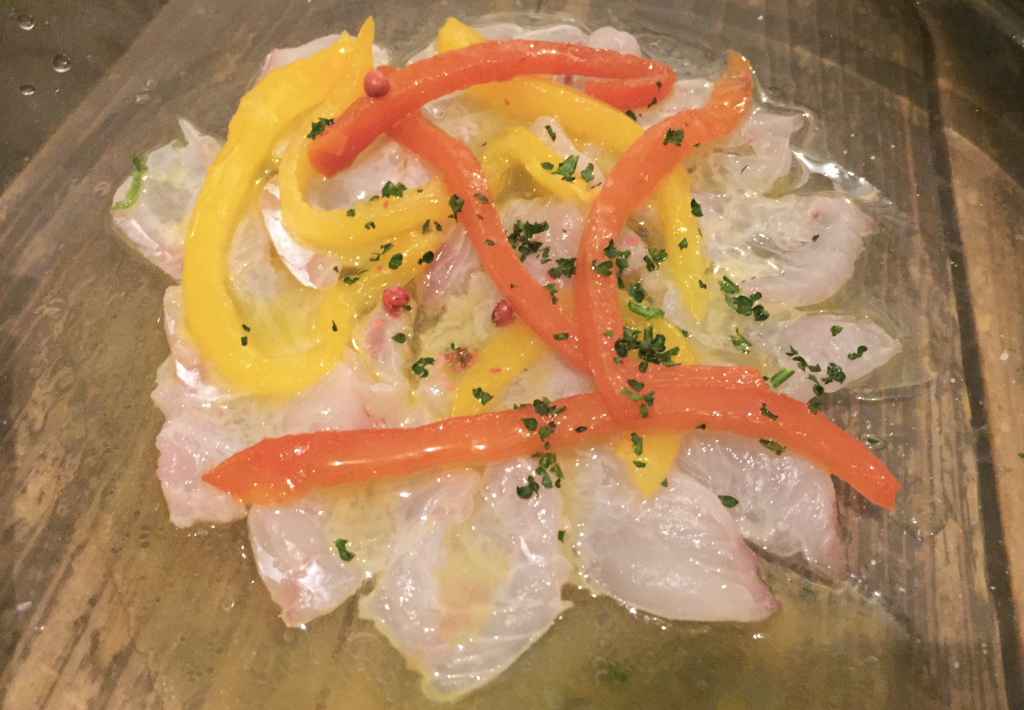 酒場ペリカンの鮮魚のカルパッチョ