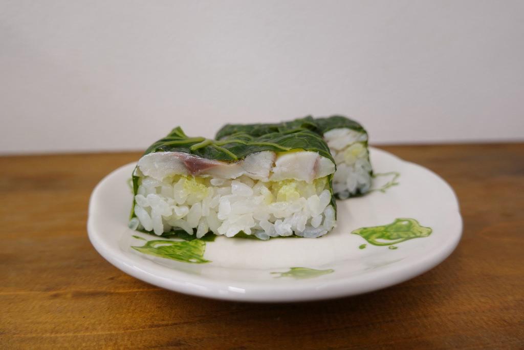 わさび葉寿司