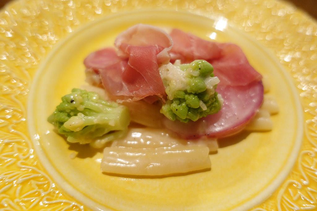イタリア産生ハムとロマネスコのカーサレッチェ