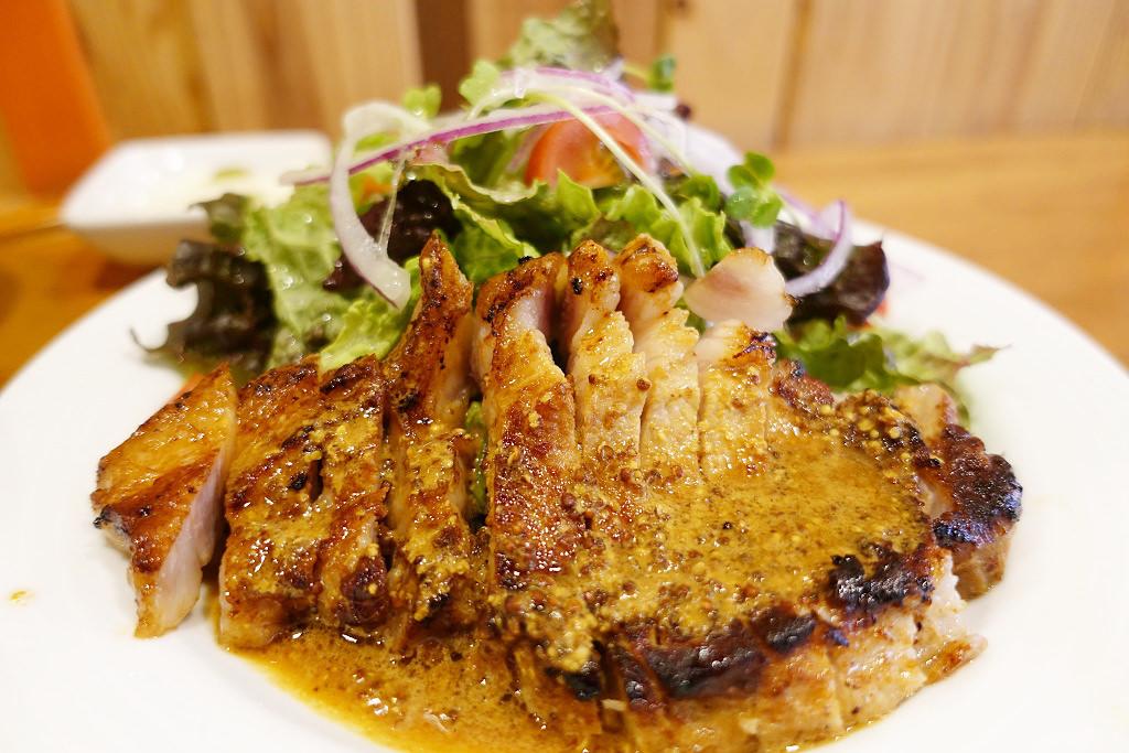 豚ロースのステーキ