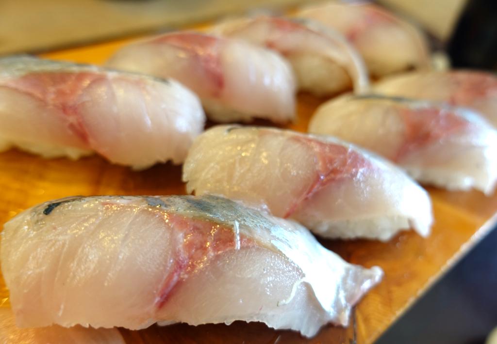 【銀太】倉沢アジを食べるなら由比を代表する寿司屋へ行こう!