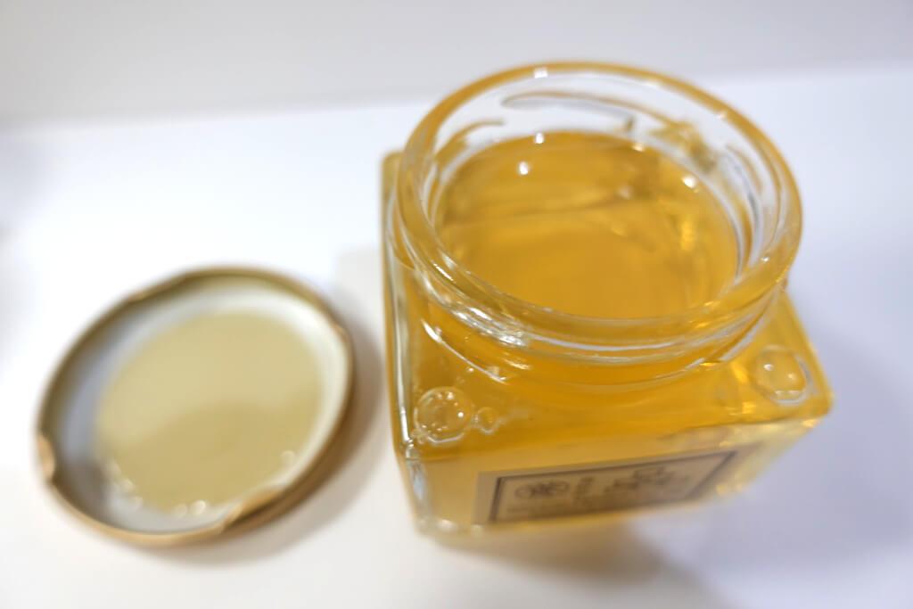 「くり蜜」を開栓