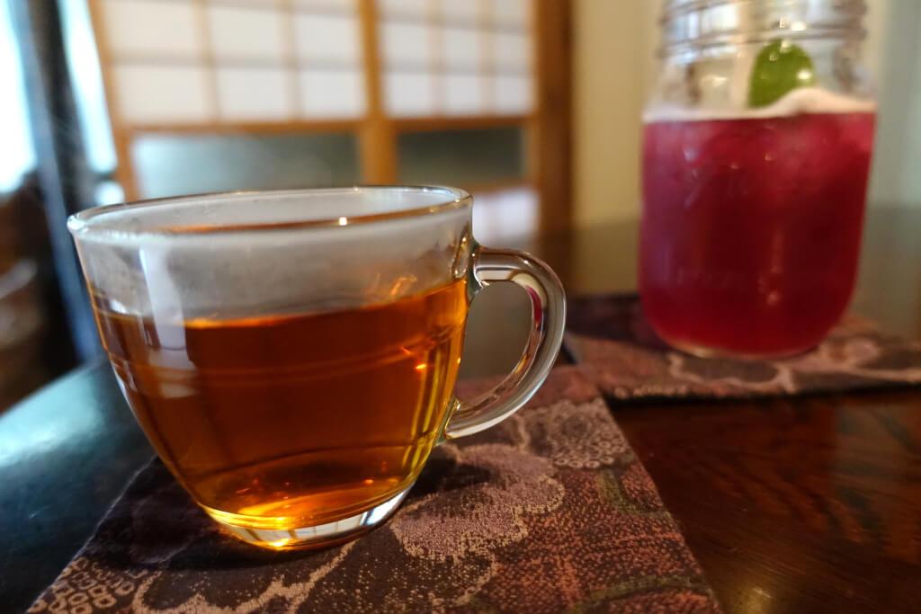 玉川紅茶としそジュース
