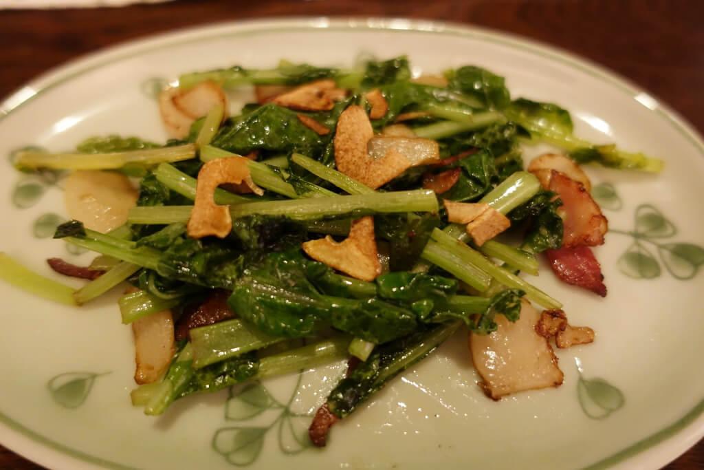 大根菜の香味ソテー