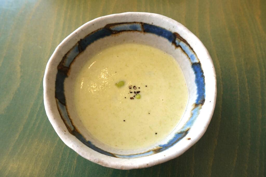 枝豆のポタージュ