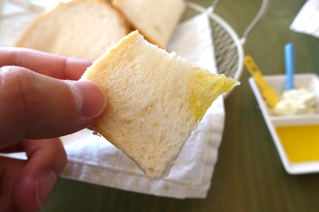 食パンが柔らかい