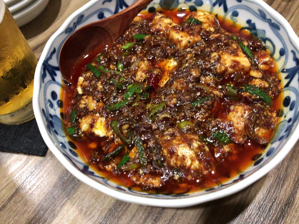 華音の四川麻婆豆腐