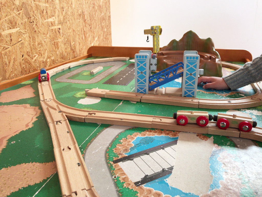 電車のおもちゃ