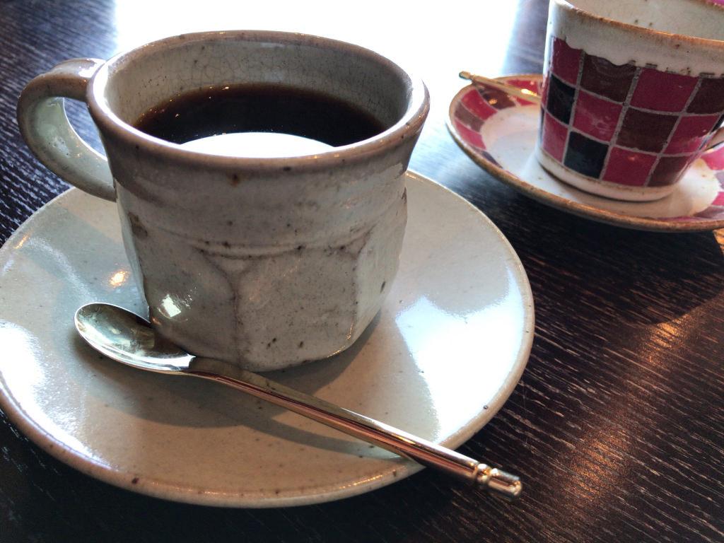 コーヒーカップが可愛い