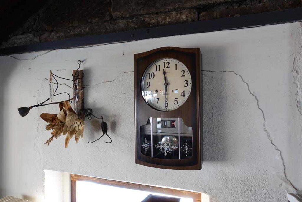 チクタクと時を刻む古時計