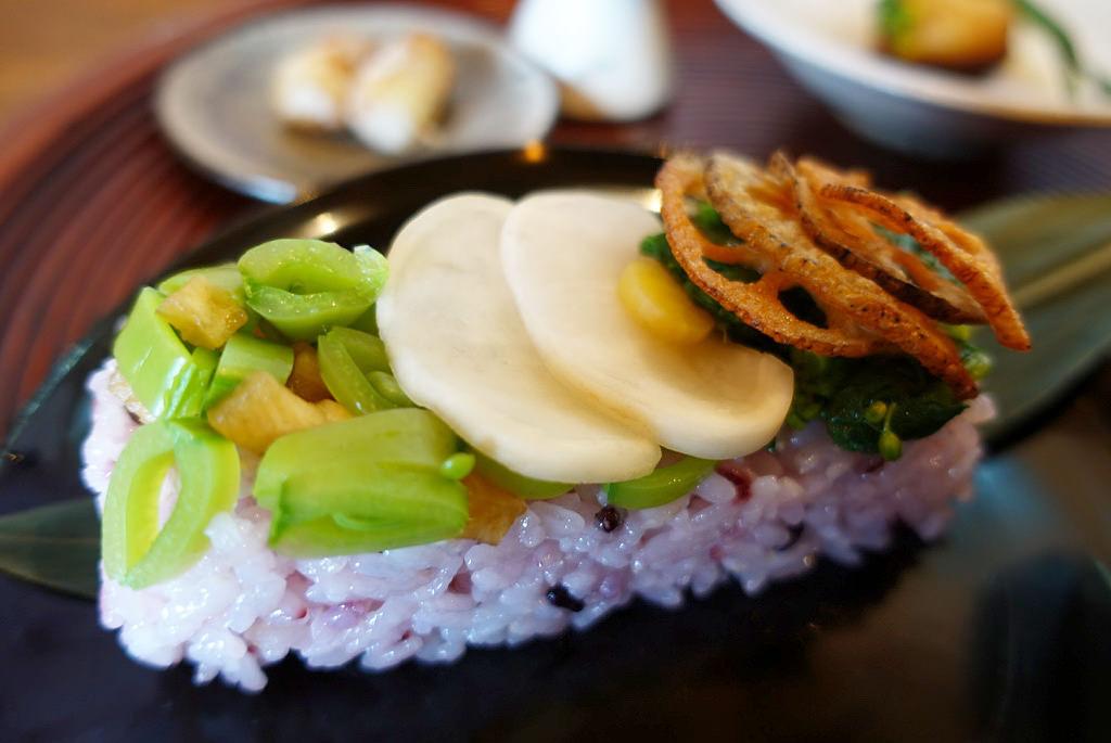 黒米 野菜ちらし寿司