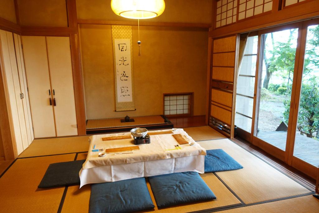 椿坂久保田の和室