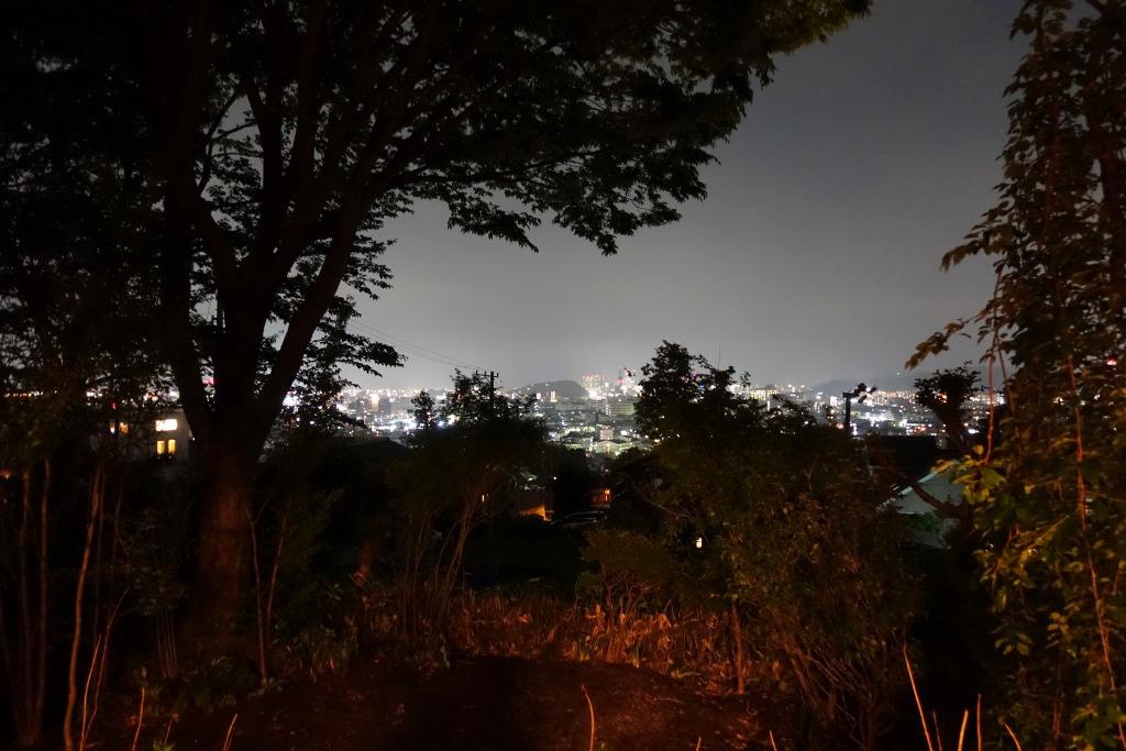 椿坂久保田からの夜景