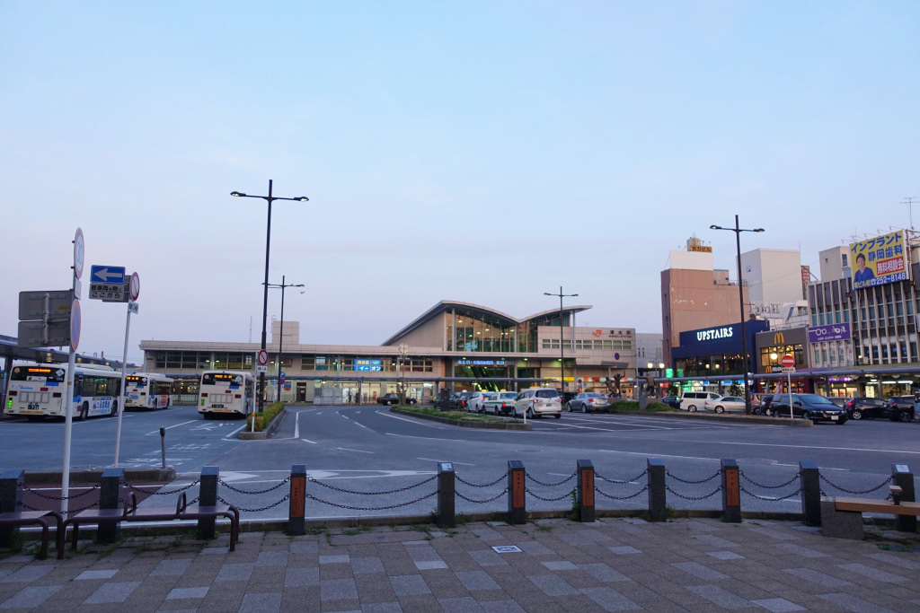 清水駅前の風景