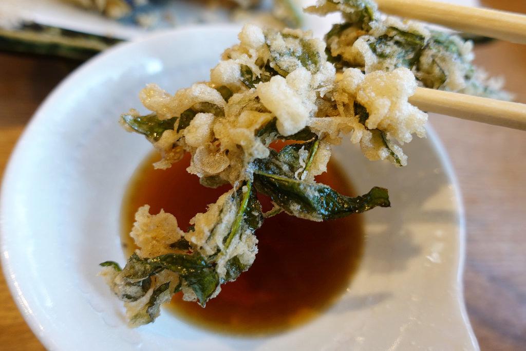 野菜天ぷら盛り合わせ
