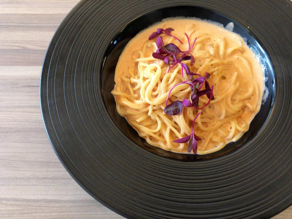 うにクリームのスパゲッティーニ