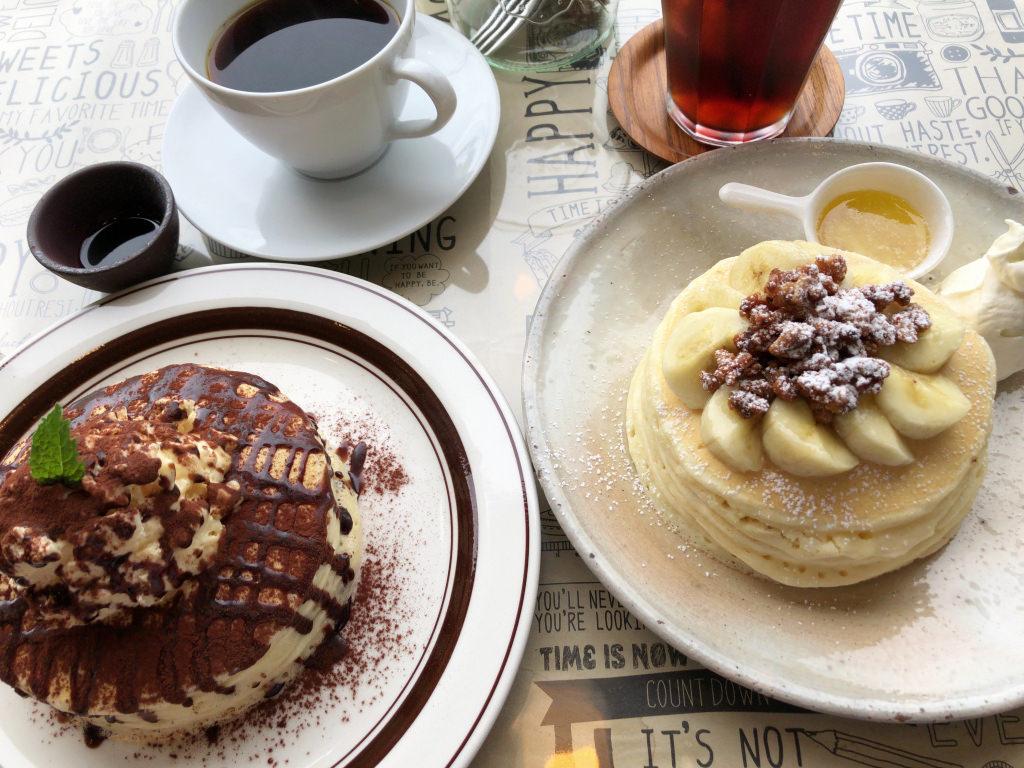 カフェ エスケープのパンケーキ