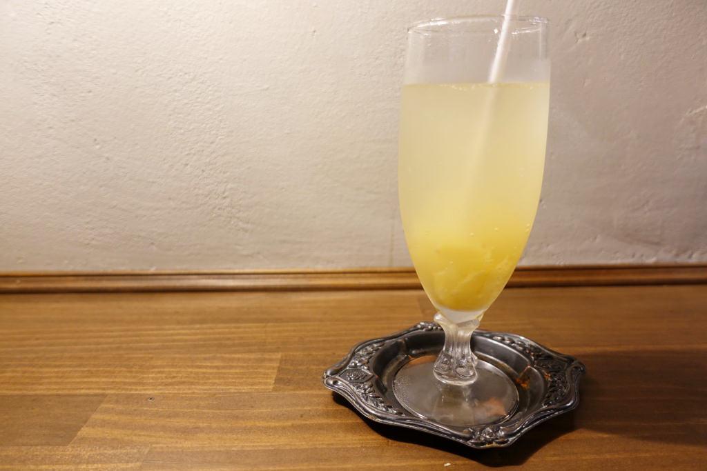 生姜のソーダ