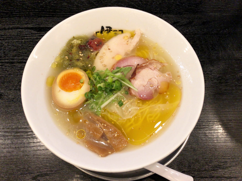柚子鶏冷やしらー麺