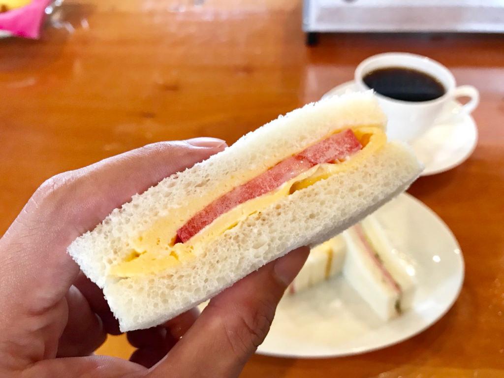 カフェバール・ジハンのサンドイッチ