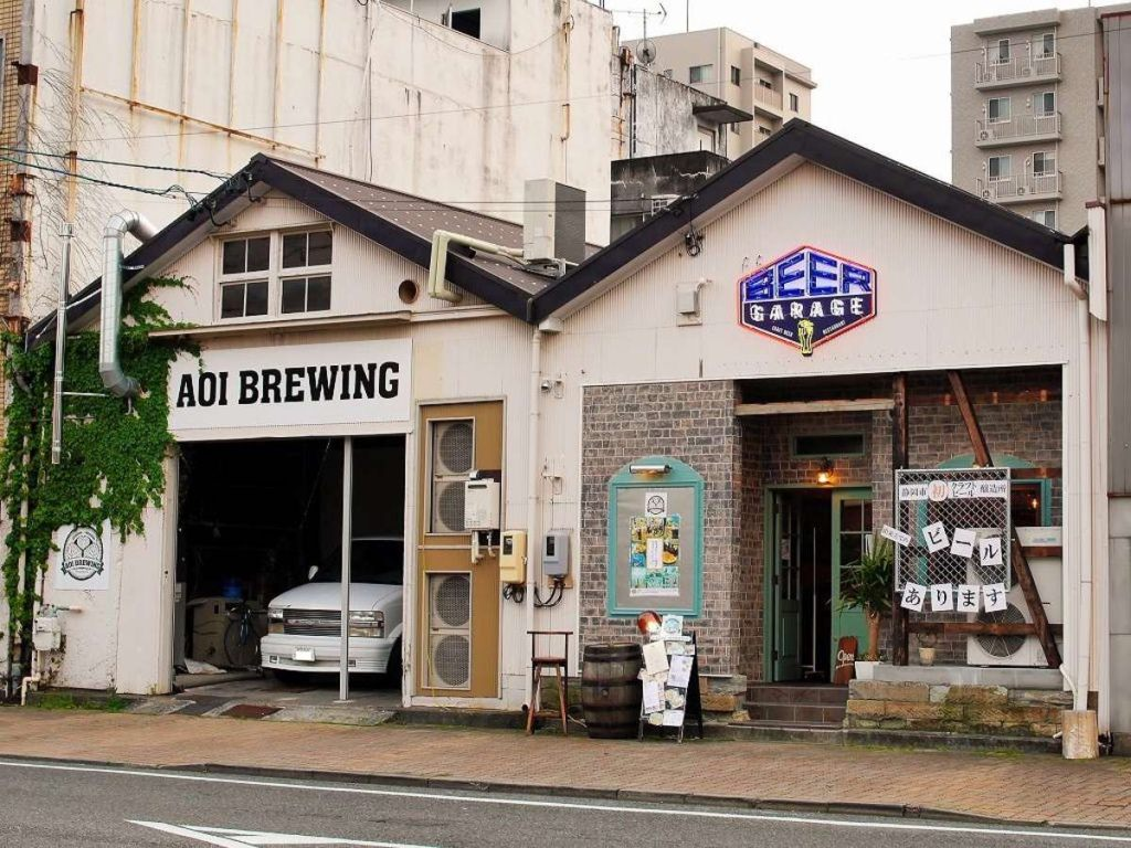 AOI BREWINGの外観
