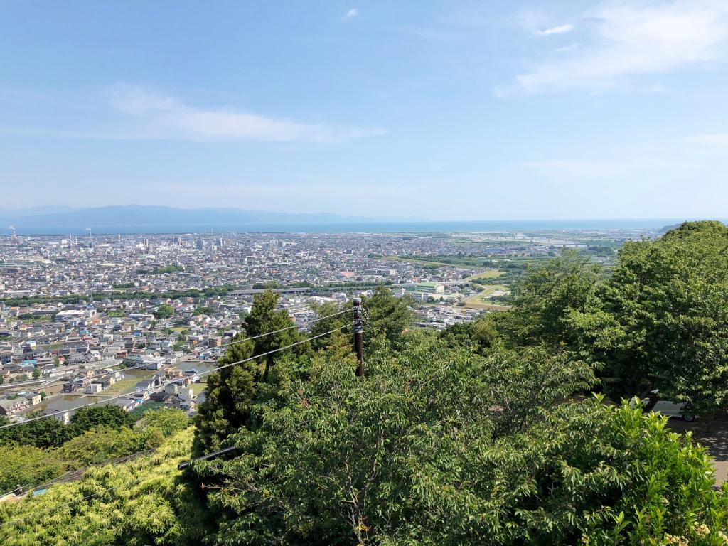 岩本山公園の風景