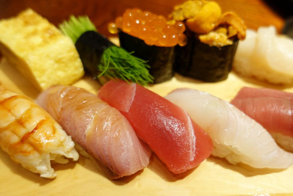 一兆のお寿司