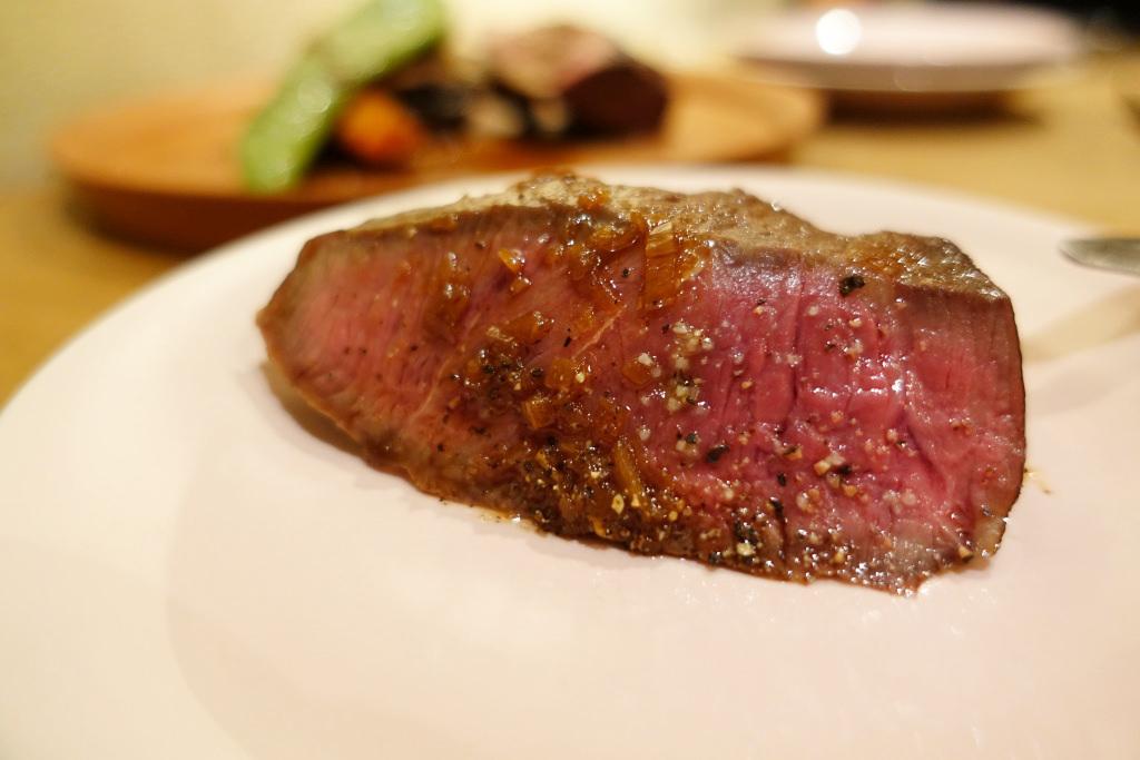 牛みすじ肉のロースト
