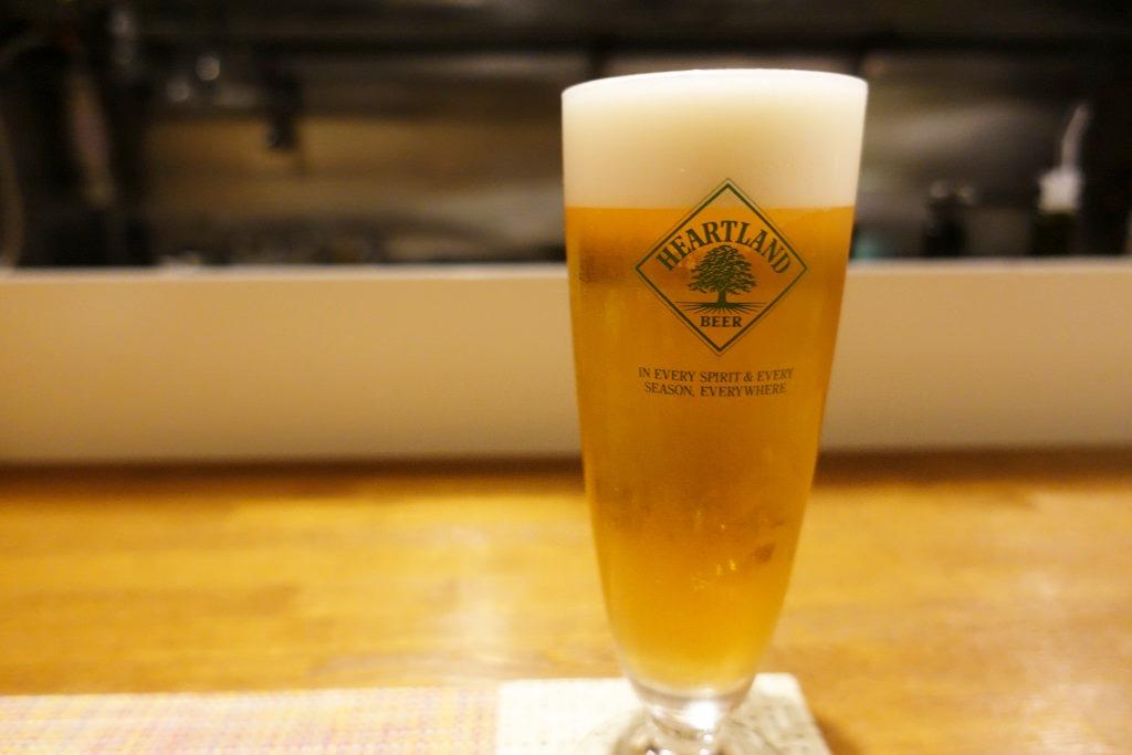 ハートランド生ビール