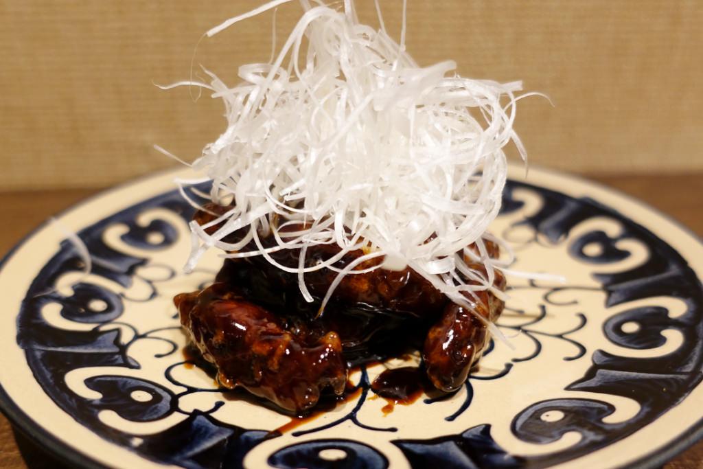 上海式 黒酢の酢豚