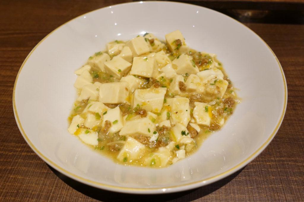 海南島名物黄色い麻婆豆腐