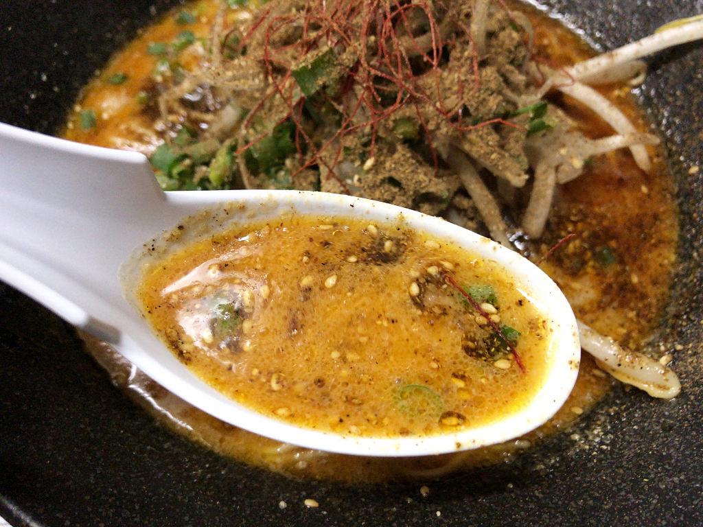 坦々麺のスープ
