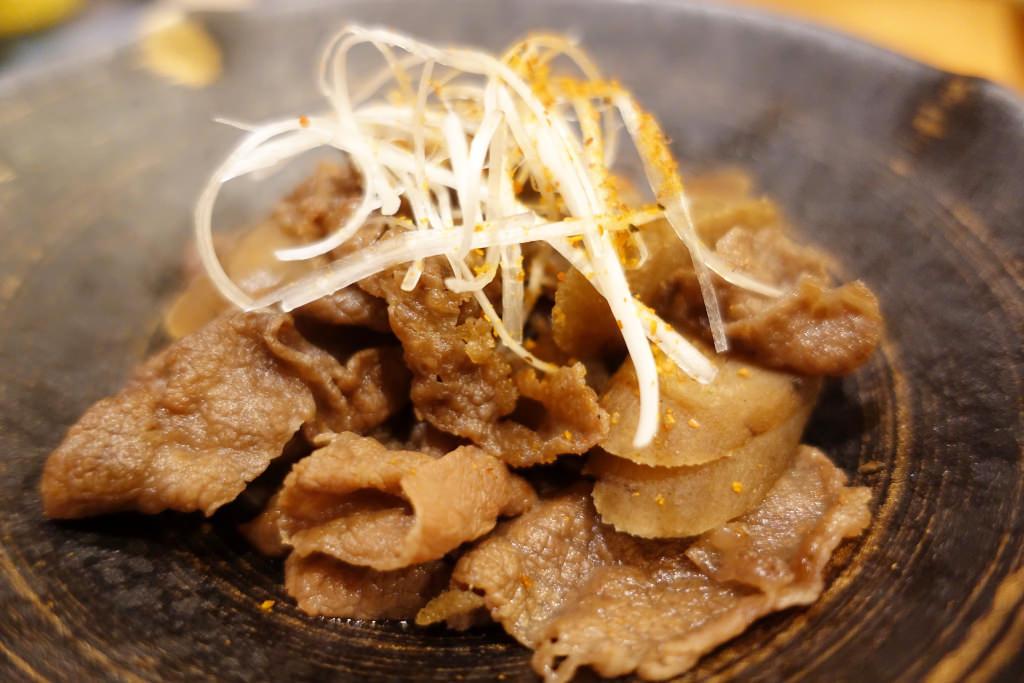 牛肉とごぼうの煮付