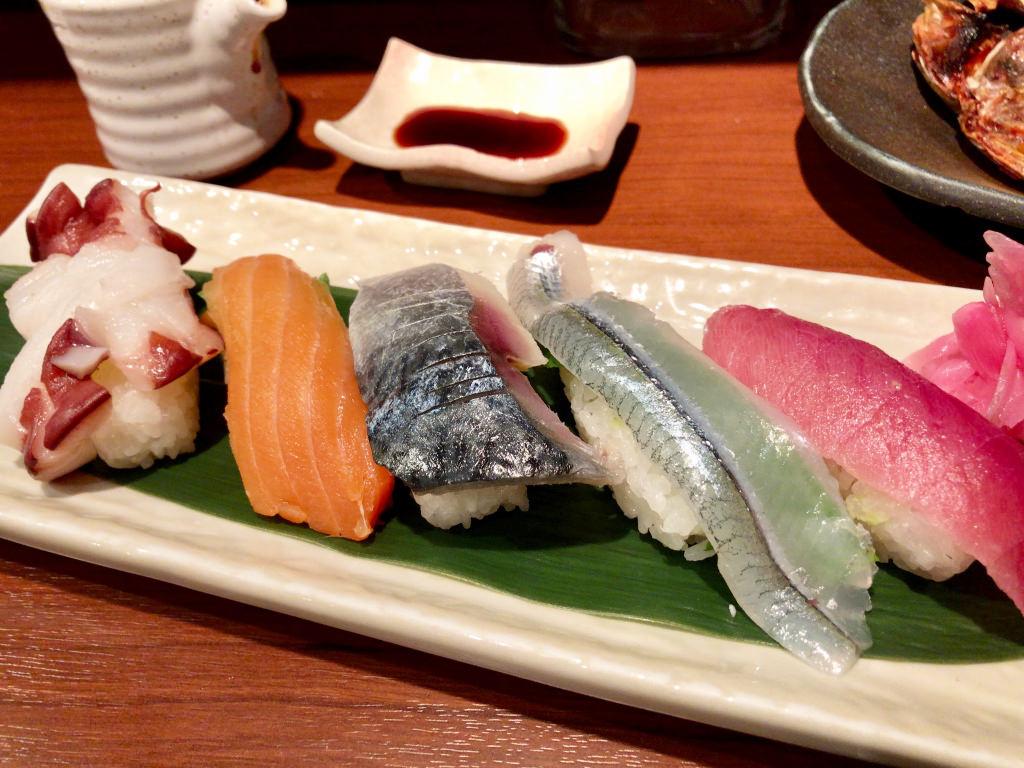 にぎり寿司 5貫
