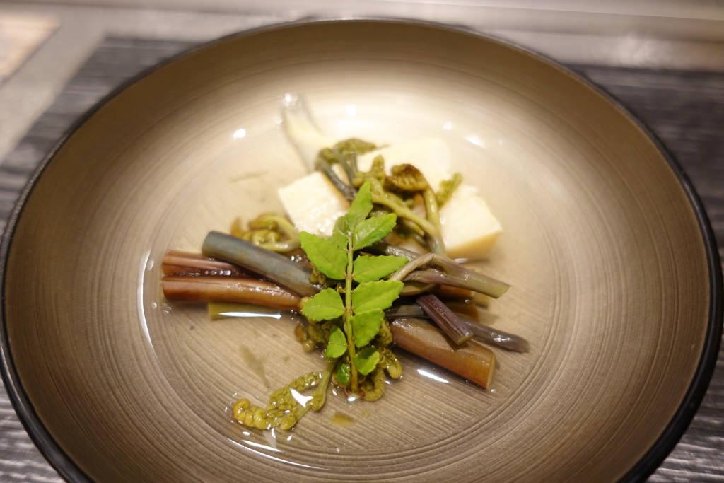 筍とタラの芽