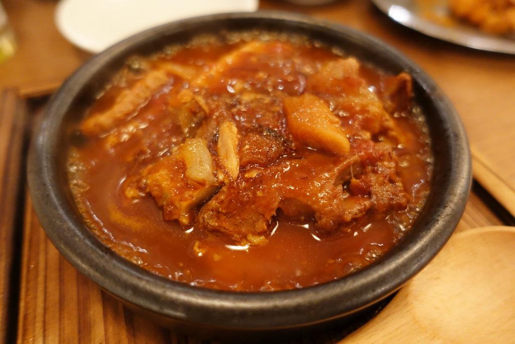 鷹吞メの料理