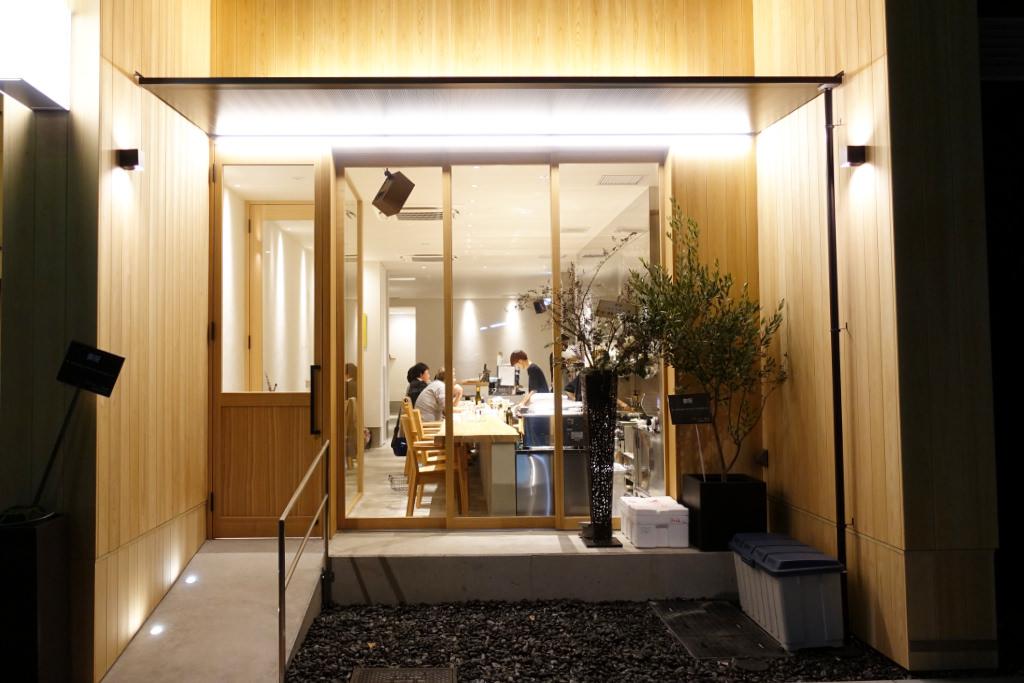 ibridoの玄関