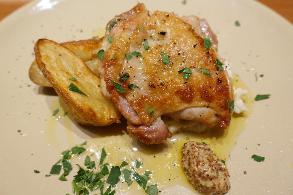 越乃鶏と秋ジャガのオーブン焼き
