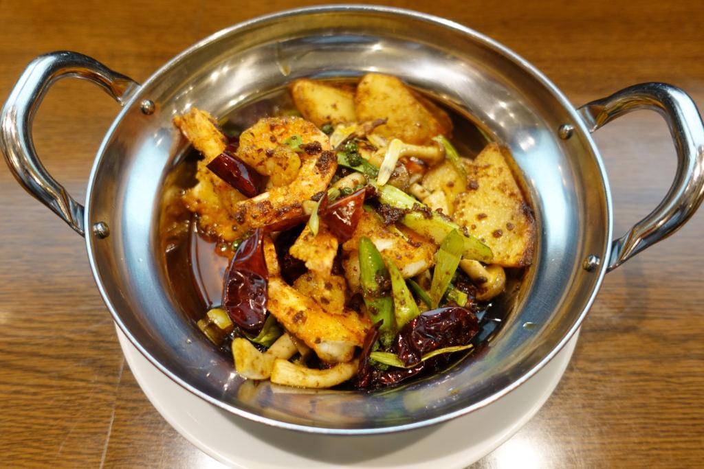 海老の干鍋