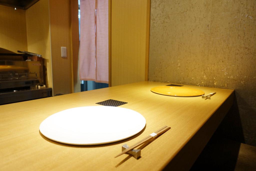 日本料理FUJIのカウンター