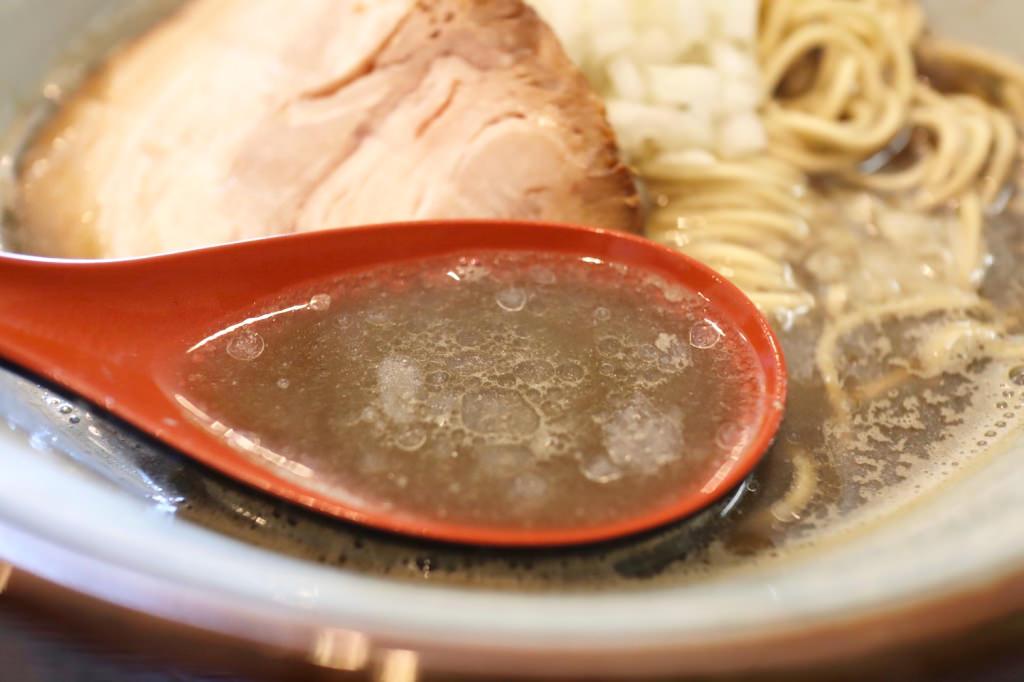 煮干しら~めんのスープ