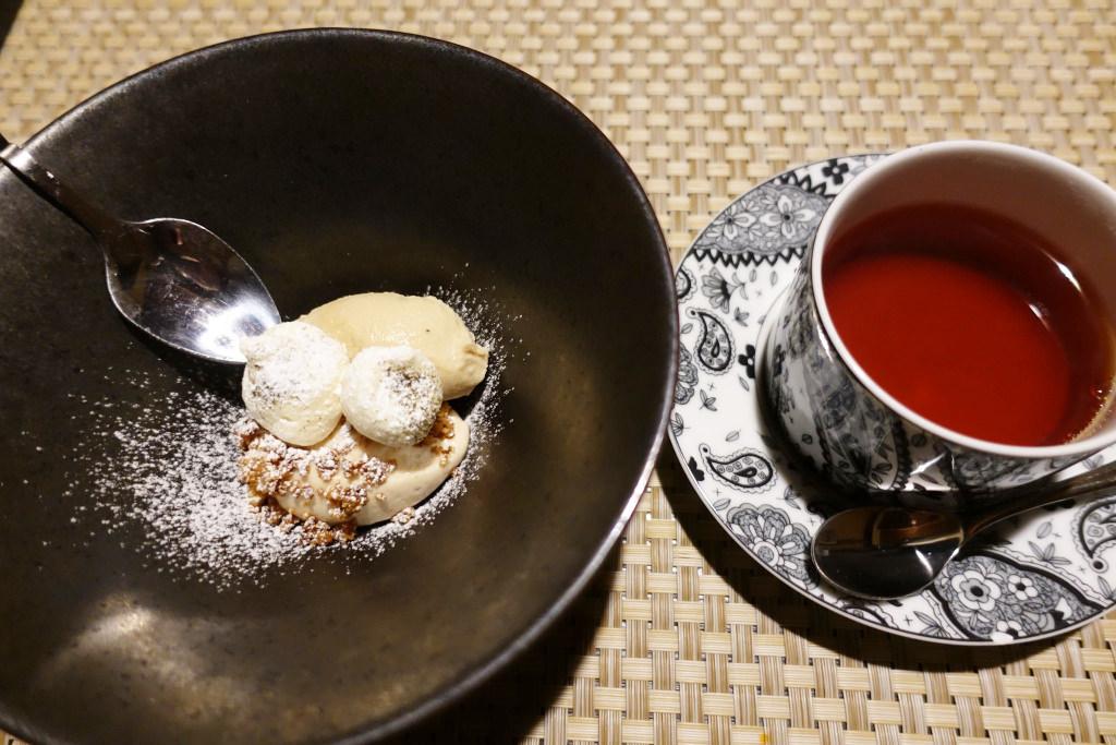 ほうじ茶と胡桃のアイスクリーム