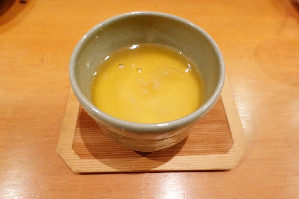 湯葉の茶碗蒸し