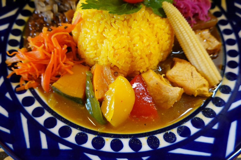 鶏肉と南瓜のカレー