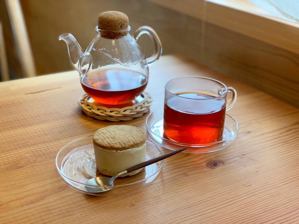 アイスサンドと紅茶