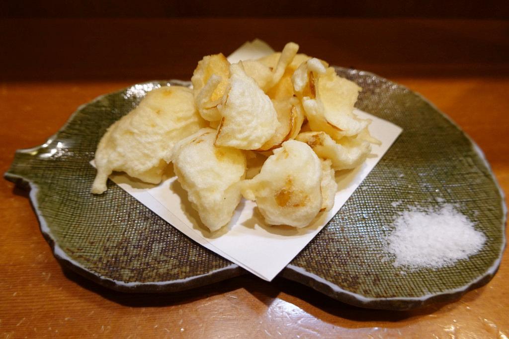 百合根天ぷら