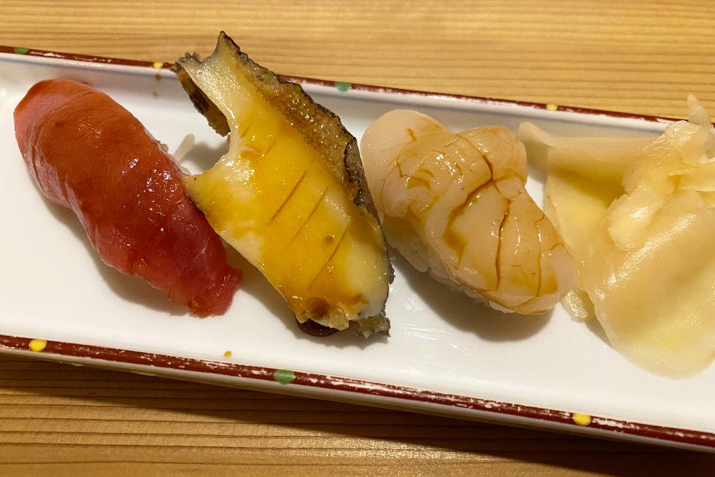 グリーンハウスのお寿司