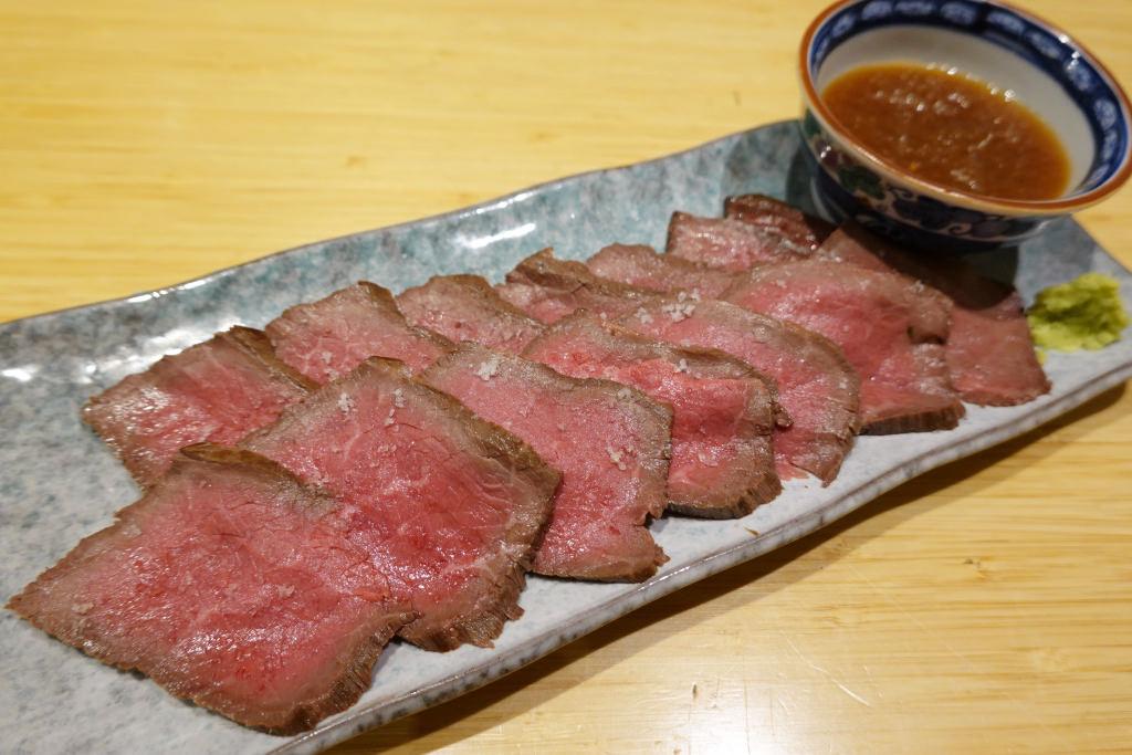 静岡牛ローストビーフ