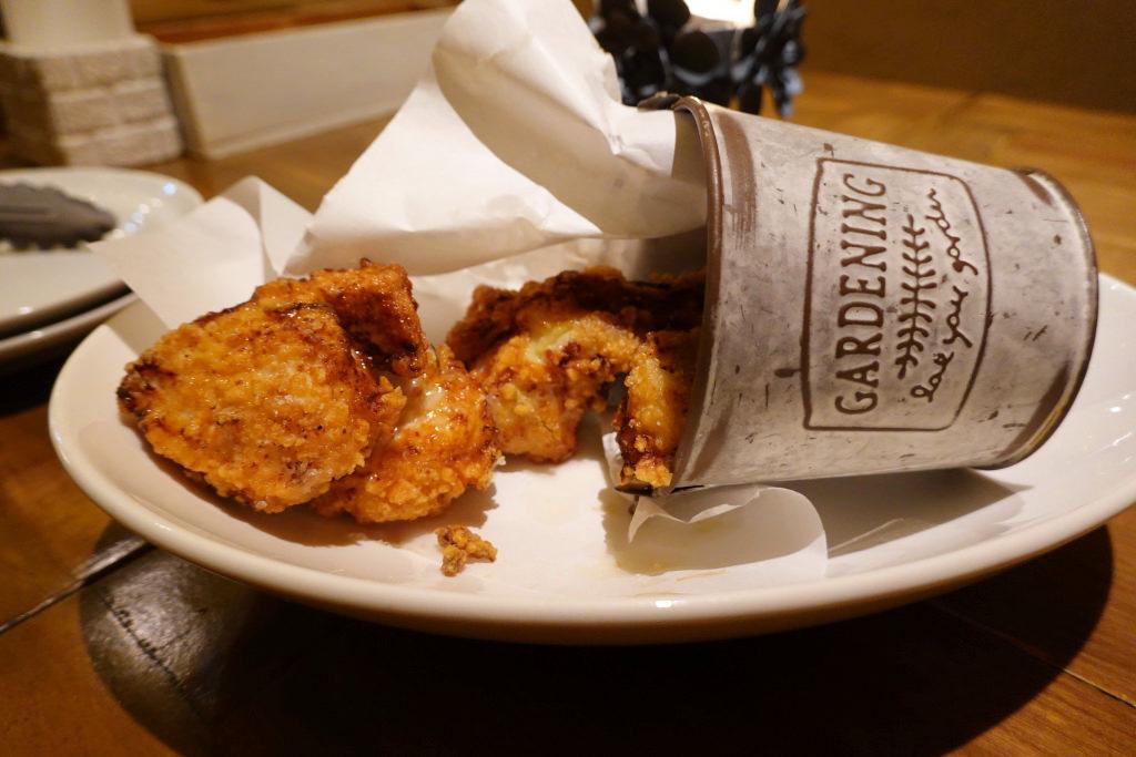 鶏むね肉のフリットローズマリー風味